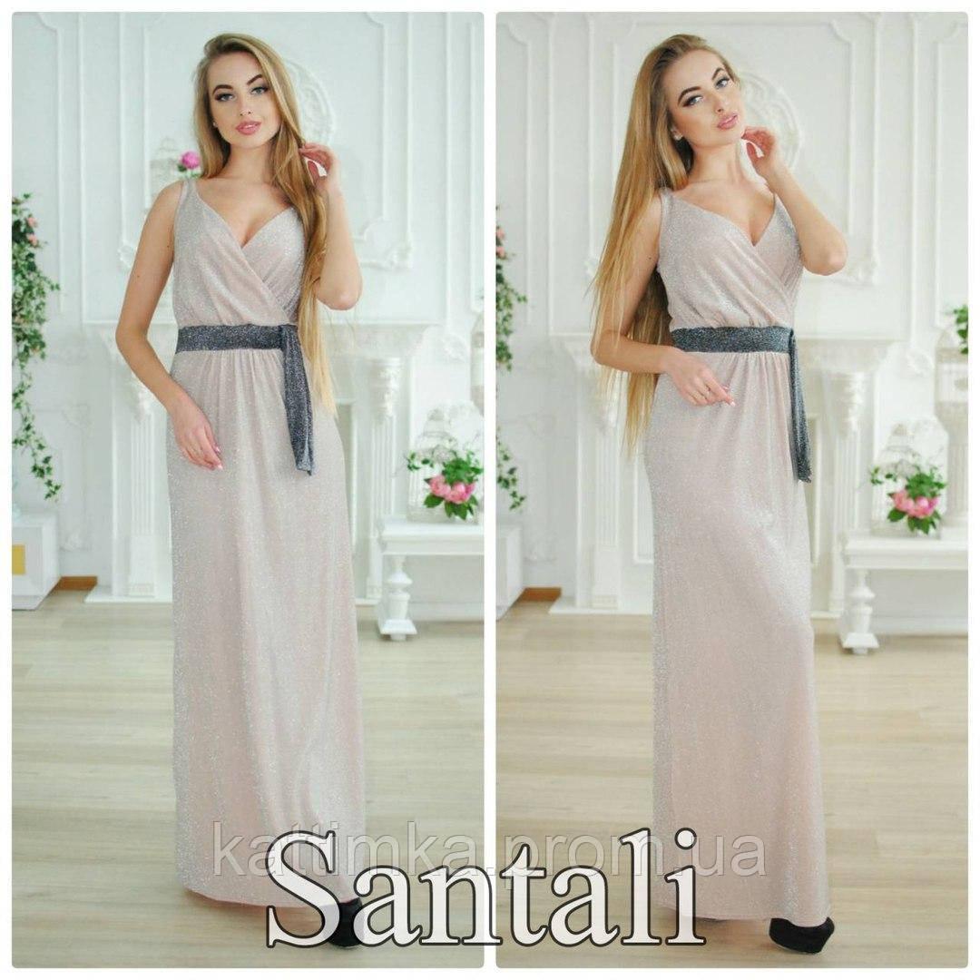 30e4abf8fd0 Платье с люрексом в пол - Интернет-магазин