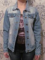 "Стильная джинсовая куртка ""LADY.N"". Артикул: W0857"