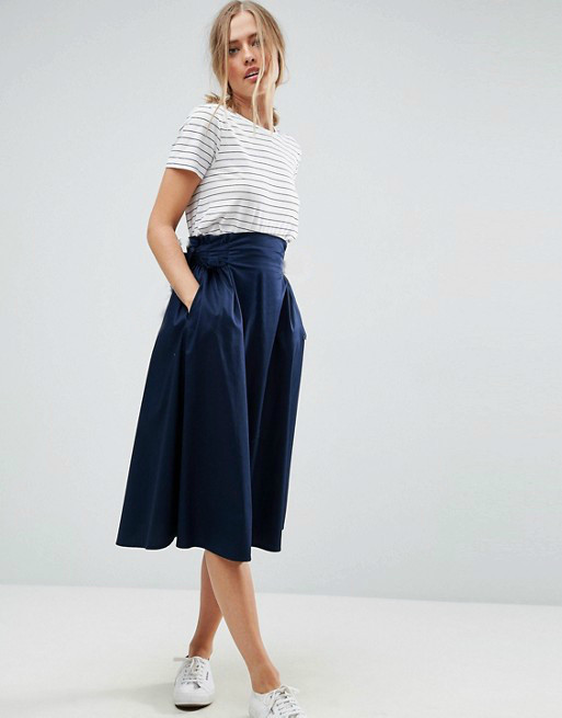Новая юбка миди с карманами Atmosphere