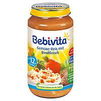 Bebivita  Menü Gemüse-Reis mit Rindfleisch - рис с овощами и говядиной от 12 месяцев 250 г