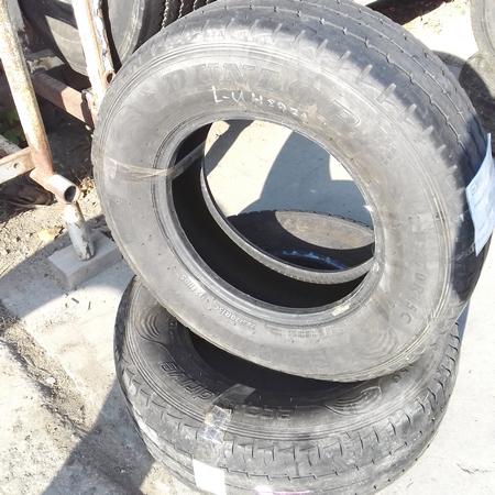 Шины б.у. 225.70.r15с Dunlop Econodrive Данлоп. Резина бу для микроавтобусов. Автошина усиленная. Цешка