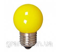 Лампа светодиодная для ретро гирлянд Белт Лайт LED 1W 230V E27 желтый