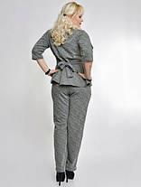 Костюм  трикотажный с брюками, фото 2