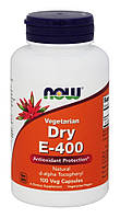 Вегетарианский сухой Е-400 / NOW - Dry E - 400 (100 caps)