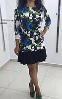 Платье - туника с воланом