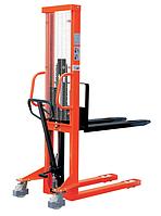 Штабелеры ручные гидравлические для паллет Skiper SKJ1030 грузоподъемностью 1,0 тн, высотой подъема 3,0 м