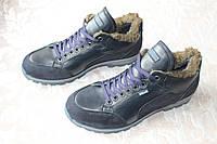 Туфли мужские зимние STALKER на меху синие
