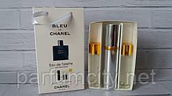 НАБОРЫ духов по 15 мл 3 шт Chanel Blue М