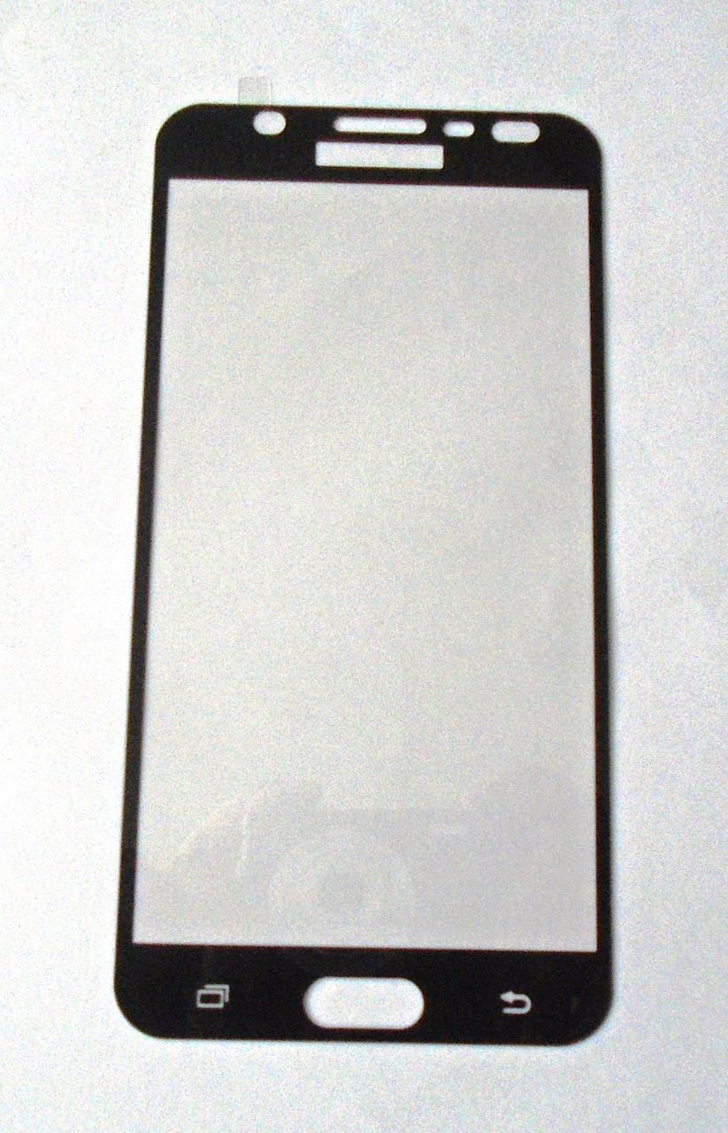 Защитное стекло Samsung J710 j7 (2016) Black 3D full Screen