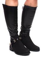 Красивые женские сапоги по колено