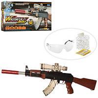 Автомат M11 +водяні кулі, лазер, окуляри. Іграшкова зброя автомат М11.
