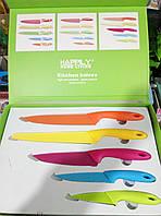 Набор ножей с керамическим покрытием из 5 шт, фото 1