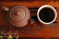 """Глиняный чайник """"Мудрость"""" (Мудрість) 350 мл, коричневый, фото 1"""