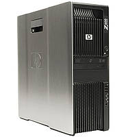 Серверная станция HP Z600 CPU Xeon e5620 2.4Ghz 6Gb 250Gb nVidia Quadro 2000 DVDRW