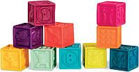 Развивающие кубики Посчитай-ка! 10 шт. Battat (BX1481Z)