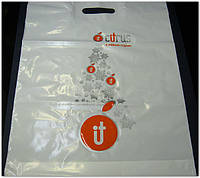 Фирменный пакет с логотипом, банан, 30*40, фото 1
