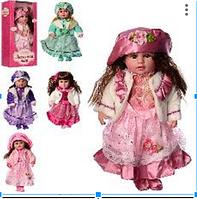 Лялька Маленька пані M3508, звук, мелодії та пісні, 5 видів, висота 45 див.