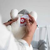 М'яка іграшка Zazu c білим шумом і імітує серцебиття мами, фото 8