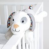 М'яка іграшка Zazu c білим шумом і імітує серцебиття мами, фото 7