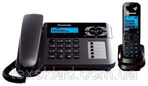 Телефон на дві трубки з АВН Panasonic KX-TG6461UA (Автовідповідач)