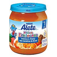 Alete kleine Entdecker  Menü Pasta mit Gemüse & Rind - паста с овощами и говядиной от 1 года 250 г