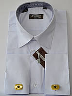 Детская  рубашка под запонку AYGEN