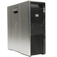 Рабочая станция HP Z600 Xeon e5620 2.4Ghz 6Gb DDR3 250Gb nVidia Quadro fx1800