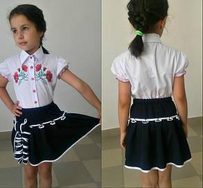 Школьная юбочка детская  с беечкой, фото 2