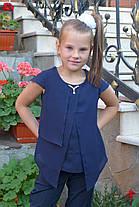 """Блузка для девочки """"мотылек"""", фото 3"""