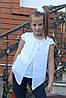 """Блузка для девочки """"мотылек"""", фото 4"""