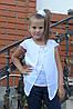 """Блузка для девочки """"мотылек"""", фото 5"""
