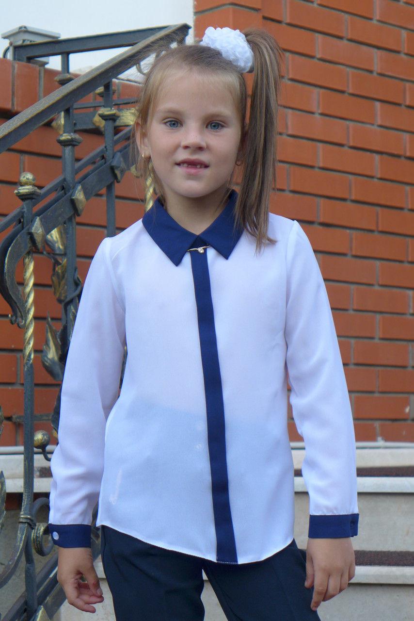 """Блузка для девочки """"планка -длинный рукав"""""""