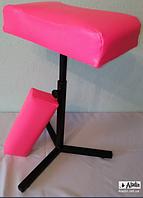 """Подставка для педикюра с валиком для маникюра.""""Pink"""""""