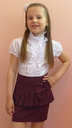 """Школьная  юбка для девочек """"баска"""" , фото 2"""