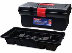 """Универсальный ящик для инструментив,пластмассовый,Technics 16"""",410х205х180 мм"""