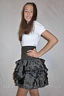 """Школьная юбка для девочек """"Розочка"""""""