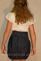 """Школьная юбка, юбка для девочек """"бочонок"""", фото 2"""