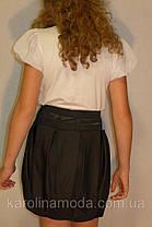 """Школьная юбка, юбка для девочек """"бочонок"""", фото 3"""