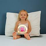 Детский ночник Zazu Lou совенок  со звуковой активацией, фото 9