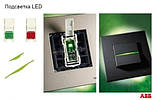 Лампа LED подсветки для проходных/перекрёстных выключателей ABB Zenit N2192 RJ, фото 2