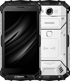 Защищенный смартфон Doogee S60 Silver IP 68 6\64GB 21mp Heilo P25 5580 мАч