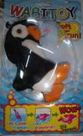 Игрушки для ванной растущие животные- пингвин