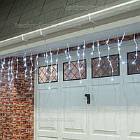 Гирлянда Бахрома 3 х 0.6 м. уличная / Premium Light IP54 200LED средний провод Холодный белый