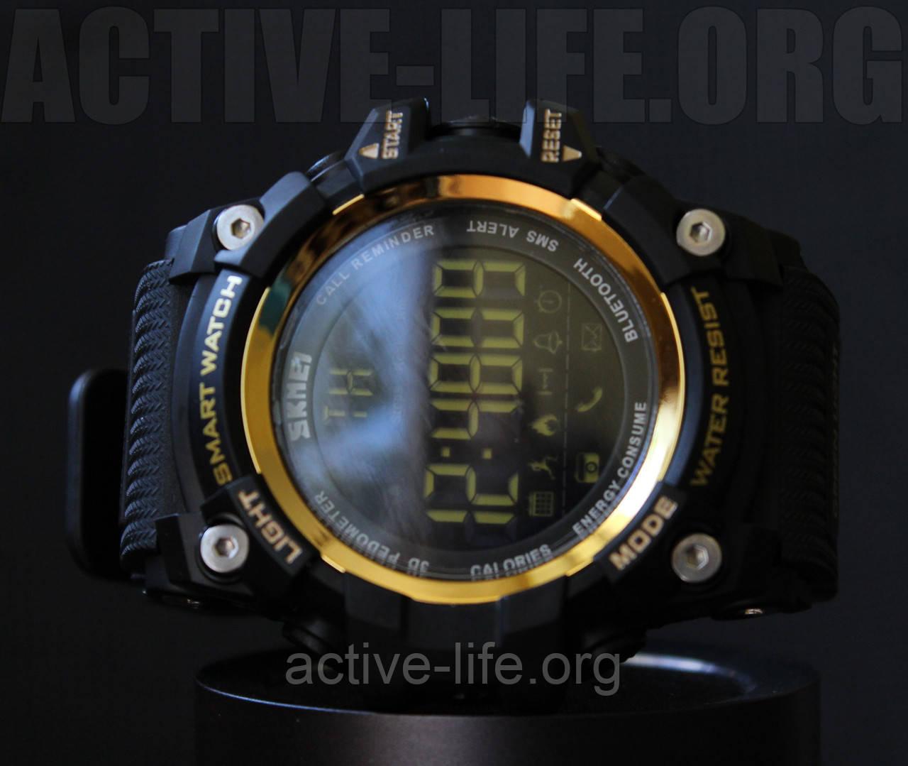 Спортивные часы Skmei Smart ( bluetooth) watch 1227 (Gold ) New 2017 Гарантия!, фото 1