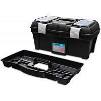 """Ящик для инструментов Berg , пластмассовый 22"""", металлические застежки, 550х255х255 мм"""