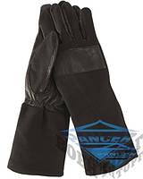 Перчатки кожаные/Nomex by DuPont™ COMBAT черные