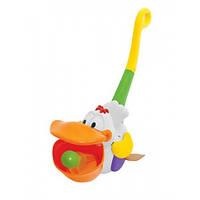 Игрушка-каталка Пеликан-затейник