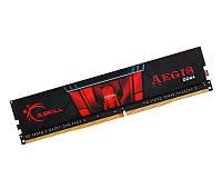Оперативная память для компьютера 4Gb DDR4, 2400 MHz, G.Skill Aegis, 15-15-15-35, 1.2V (F4-2400C15S-4GIS)