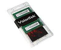 Оперативная память so-dimm для ноутбука 4Gb x 2 (8Gb Kit), DDR3, 1600 MHz (PC2-12800), VisionTek, 1.5V