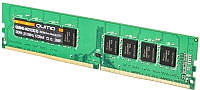 Оперативная память для компьютера 4Gb DDR4, 2133 MHz, Qumo, 15-15-15, 1.2V (QUM4U-4G2133C15)